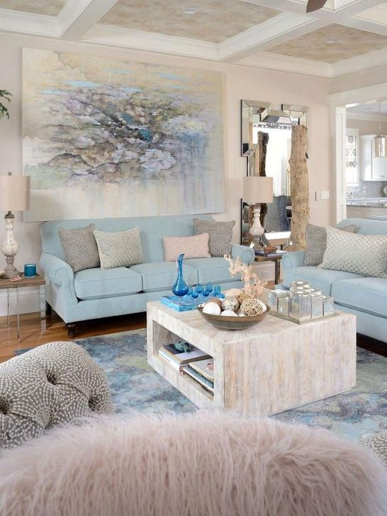 20+ Impressive Coastal Living Room Decoration Ideas You Must Try .