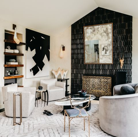 Chic Living Room Decorating Ideas and Desi