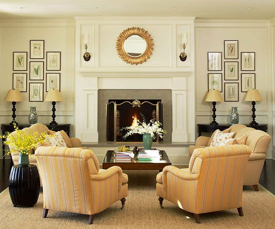 Living Room Furniture Arrangement Ideas | Rectangular living rooms .