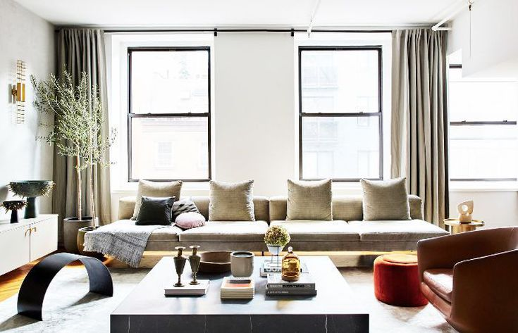 20 Luxe Living Room Design Ide