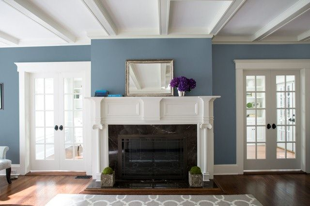 Living Room Color Ideas & Inspiration (With images) | Blue living .