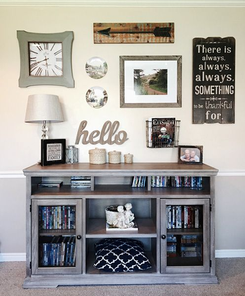 85 Creative Gallery Wall Ideas and Photos for 2019 | Living room .
