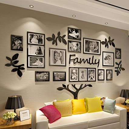 Amazon.com - CrazyDeal Family Tree Wall Decal Picture Frame .