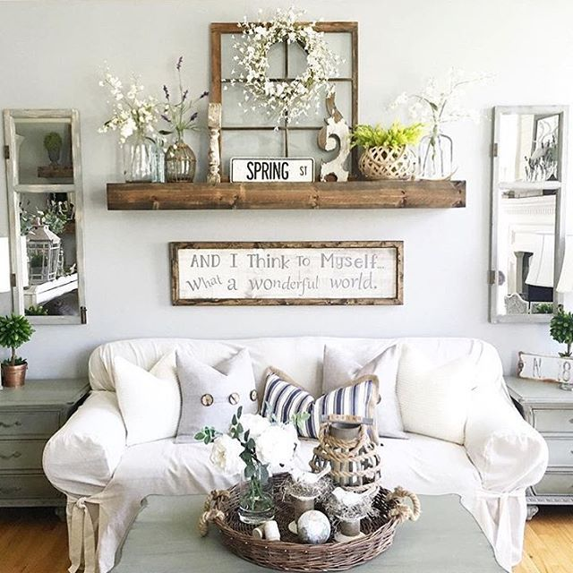 27 Rustic Wall Decor Ideas to Turn Shabby into Fabulous | Wall .