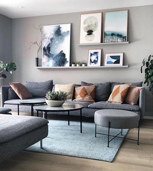 Wall Decor for Living Room - HGTV Dec