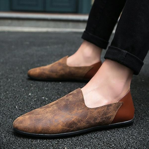 Shoes - Comfortable Soft Suede Men Loafers – Kaa