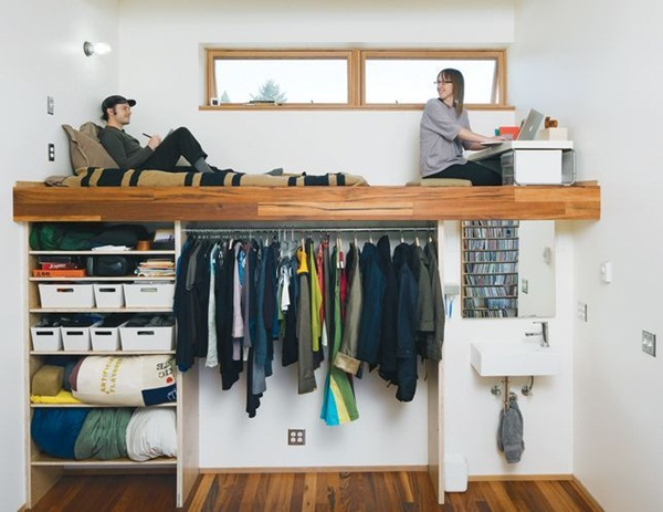 80 Cool Loft bed designs for small roo