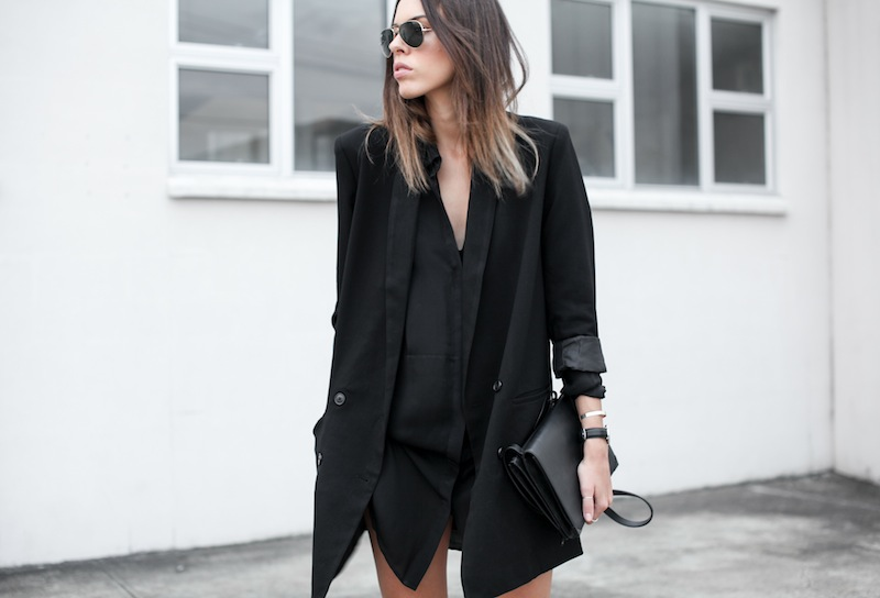 Stylish and Stunning Outfit with Long Blaze