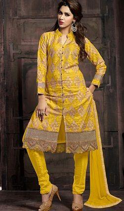 25 Latest Churidar Dress Designs To Look Like a Desi Diva! (With .