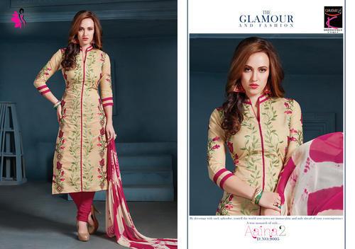 Cotton Designer Churidar Dress, Rs 615 /piece K. Nandlal Sons   ID .