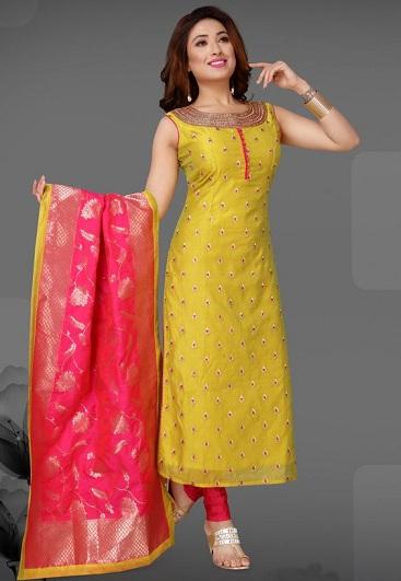 25 Latest Churidar Dress Designs To Look Like a Desi Diva .