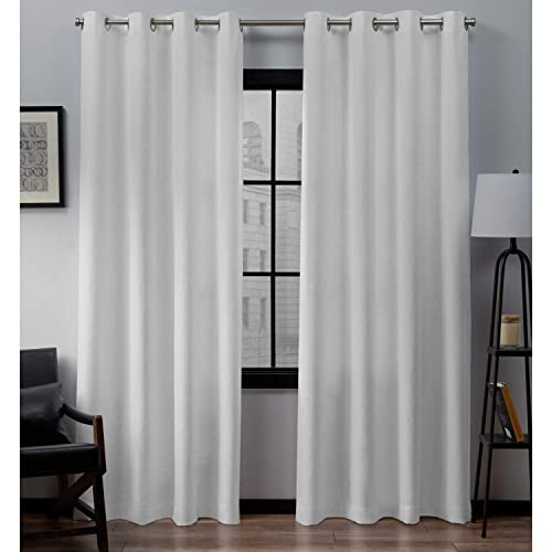 Extra Long White Curtains: Amazon.c