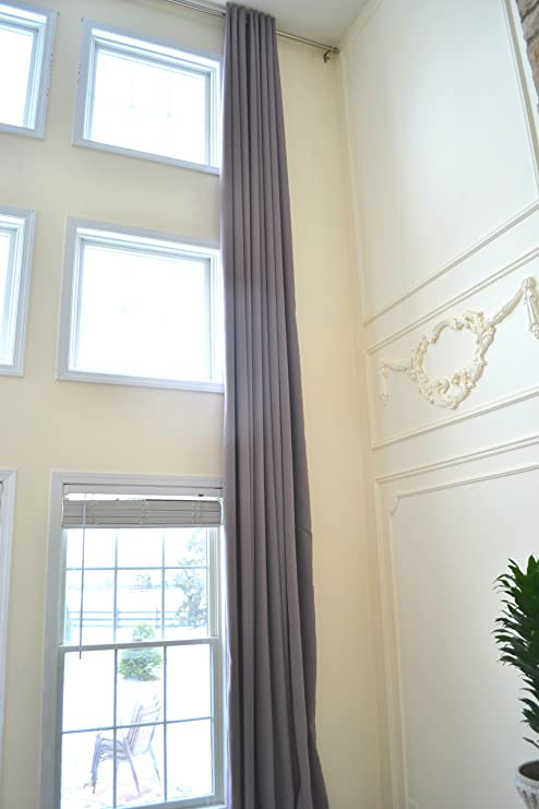 Amazon.com: Ikiriska Blackout Extra Long Curtains for 2 Story .