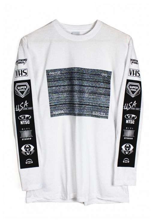 Agora VHS Static Long Sleeve t shirt (With images) | Long sleeve .