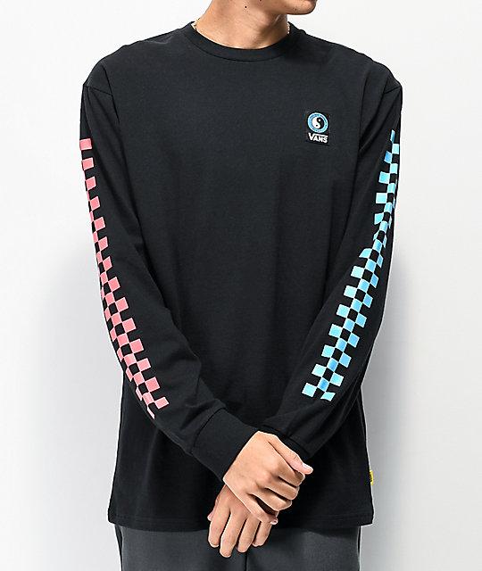 Vans x T&C Surf Designs Boxed Black Long Sleeve T-Shirt | Zumi