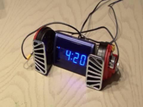 World's Loudest Alarm Clock! - YouTu