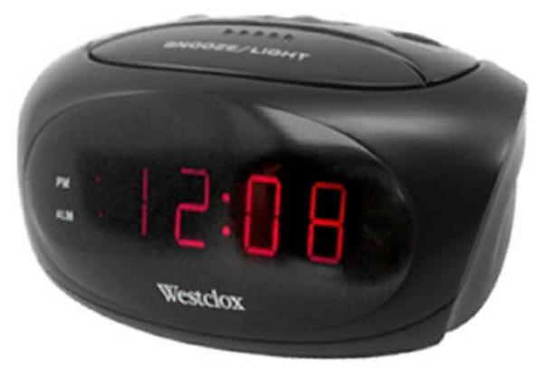 "Westclox® 70044 Super Loud Alarm Clock with 0.6"" LED Display ."