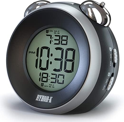 Amazon.com: RYHOR-K Loud Alarm Clock for Heavy Sleepers – Simple .
