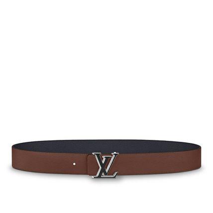 Shop Louis Vuitton TAURILLON 2018-19AW Lv Tilt 40Mm Reversible .