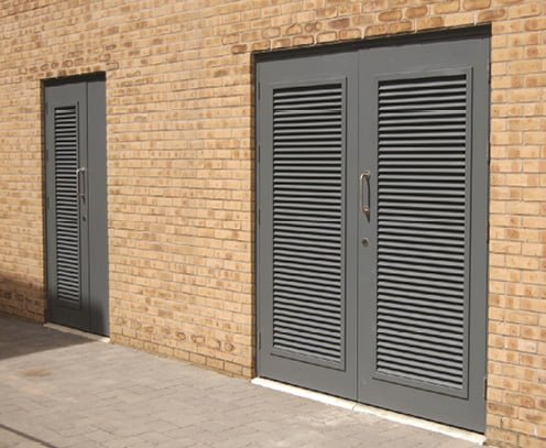 Sand Trapped Louver Doors | Fire Rated Louvers | Acoustic Louve
