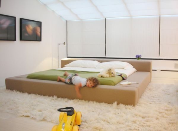 5 Low Bed Designs For Modern And Contemporary Homes | Kids bed .