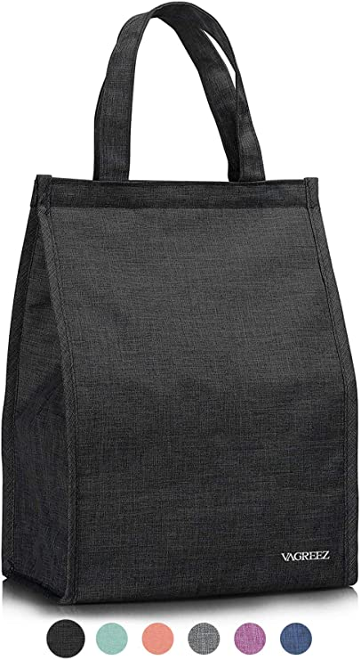 Amazon.com: Lunch Bag, VAGREEZ Insulated Lunch Bag Large .