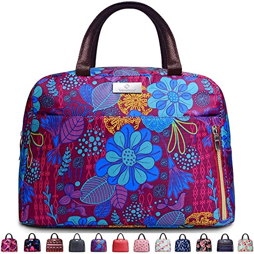 Amazon.com: Lunch Bags For Women, Insulated Lunch Box Tote Bag .