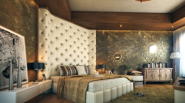 Elaborate Opulence in 20 Luxurious Bedroom Designs | Home Design Lov