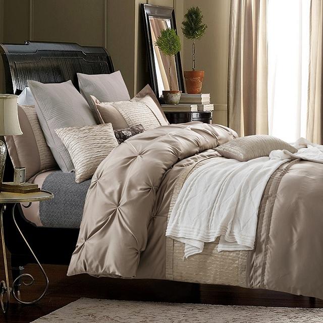 Silk sheets Luxury Bedding set designer bedspreads Queen size .