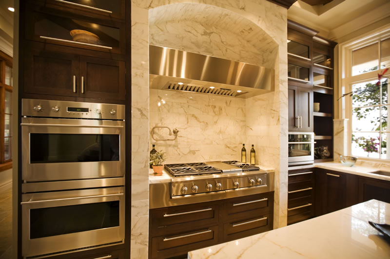 luxury kitchens - Canyon Development Group - Canyon Custom Hom