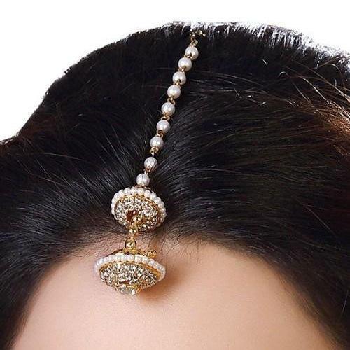 SM Jewellery Golden Designer Maang Tikka, Rs 120 /piece S.M. .
