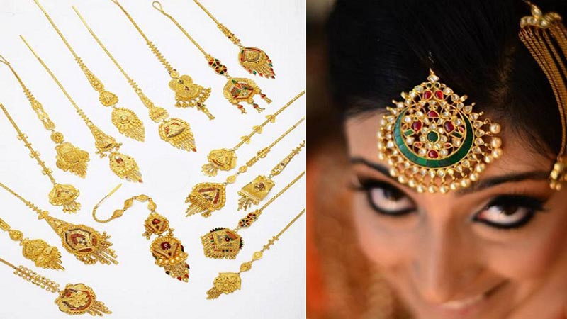15 Latest Maang Tikka Jewellery Designs in Go