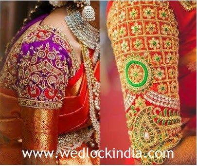 Maggam Work Blouse Designs,Simple Wedding Cake Designs