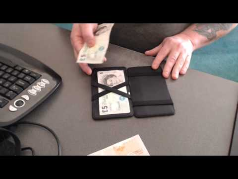 How To Use The Magic Wallet - YouTu