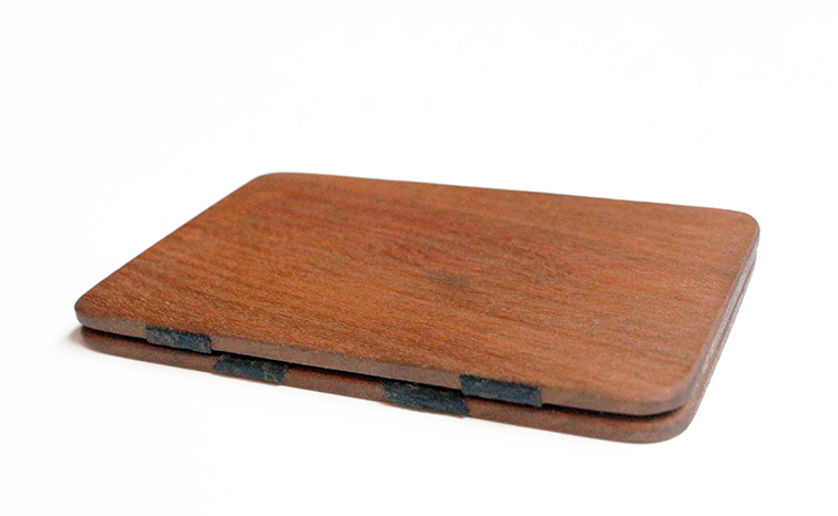 Wood Magic Wallet | Jennifer Rong Desig