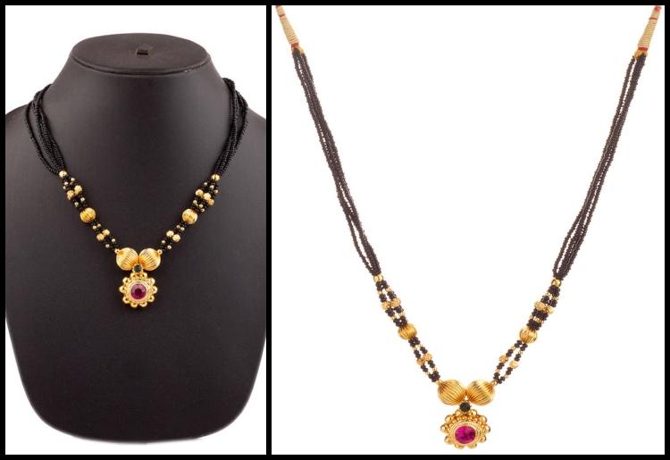 10 Classic Yet Trendy Maharashtrian Mangalsutra Desig