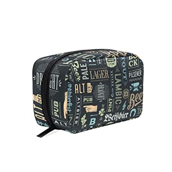 Amazon.com : Makeup Bag Portable Travel Cosmetic Bags Types Of .