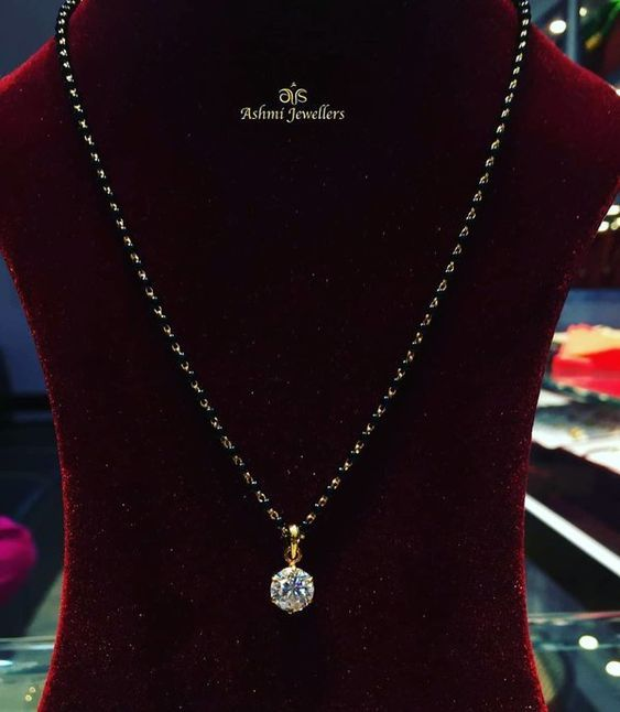 Mangalsutra Designs 2020 (With images) | Mangalsutra designs .