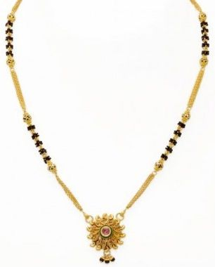 25 Different Gold Mangalsutra Designs in 2020 | Gold mangalsutra .