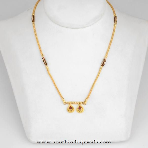 Gold Mangalsutra Designs from WHPS | Gold mangalsutra desig