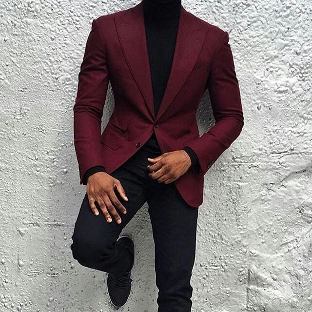Maroon blazers #mensfashion (With images) | Blazer outfits m