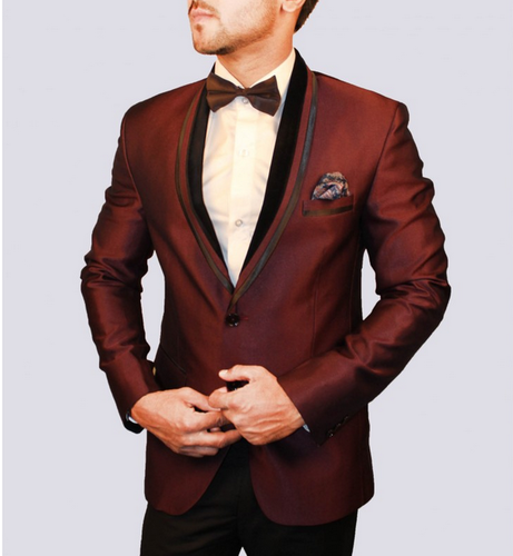 Cotton Indian Attitude Maroon Blazer MB4369, Rs 1999 /piece Indian .