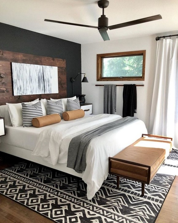 10+ Simple Master Bedroom Design Ideas For Inspirations #Bedroom .