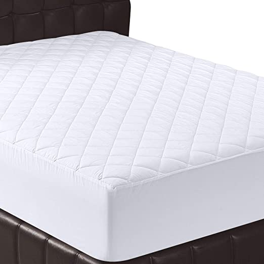 Amazon.com: Utopia Bedding Quilted Fitted Mattress Pad (Queen .