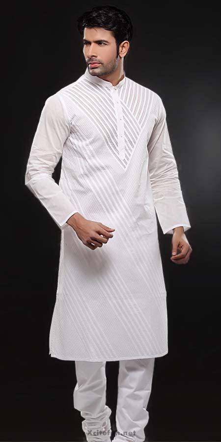 White Embroidery Salwar Kameez Designs For Men : Fashion, Beauty .