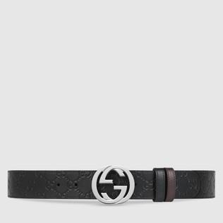Men's Reversible Belts | Leather Reversible Belts | GUCCI®
