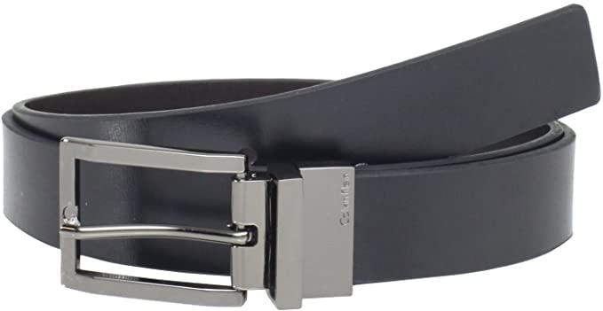 Calvin Klein Men's 32mm Reveversible Flat Strap Buckle at Amazon .