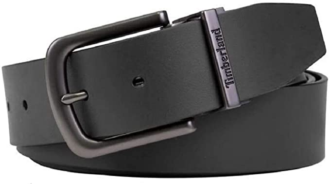 Timberland Men's Reversible Leather Belt, One Size Cut-to-fit at .