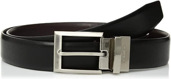 Calvin Klein Men's Smooth Leather Reversible Belt at Amazon Men's .