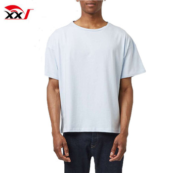 Boxy Fit Blank Cotton Mens Tee Shirts Wholesale China - Buy Plain .